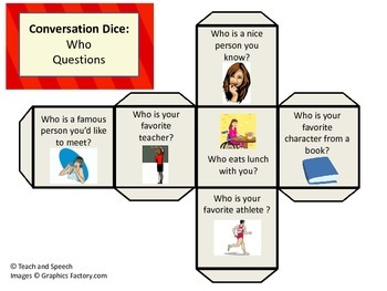 Conversation Dice for Social Skills
