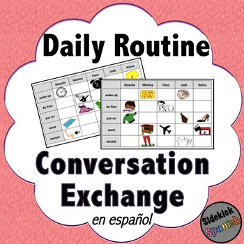 Conversation Exchange: Daily Routine in Spanish