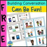 Conversation Skills Activities for Autism    Free Printables   Social Skills