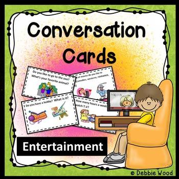 ESL Conversation Starters:  Entertainment