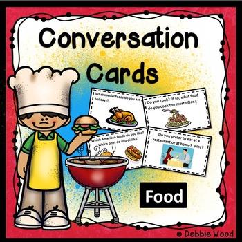 ESL Conversation Starters: Food