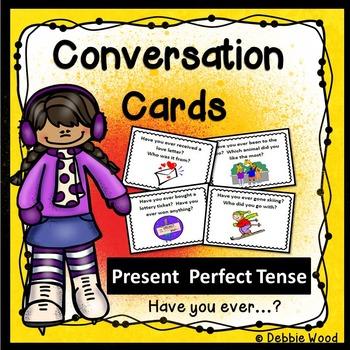 ESL Conversation Activities:  Present Perfect Tense (Have you ever...?)