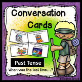 ESL Activities: Conversation Cards Past Tense