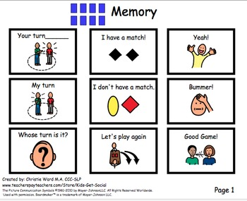 Conversation Game Boards