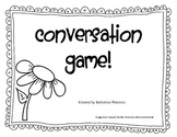 Conversation Game - Social Skills Practice