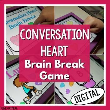 Conversation Heart Brain Break Game