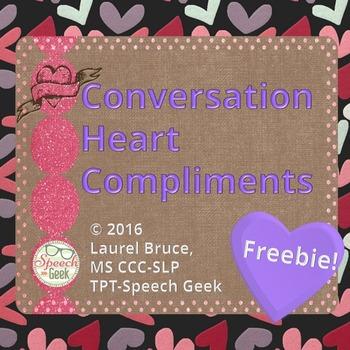 Conversation Heart Compliments