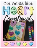 Conversation Heart Compliments Valentine's Day Activity with Adjectives