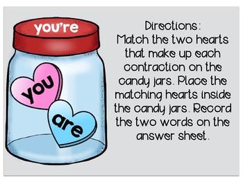 Conversation Heart Contractions