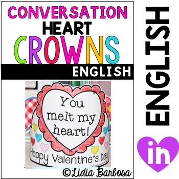 Conversation Heart Crowns for Valentine's Day