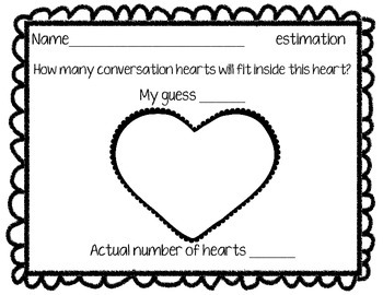Conversation Heart Estimation