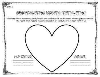 Conversation Heart Estimation FREEBIE