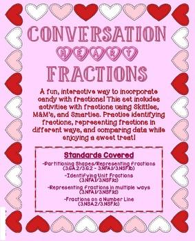 Conversation Heart Fractions
