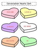 Conversation Heart Graphing Activity