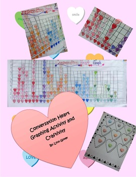 Conversation Heart Graphing Craftivity