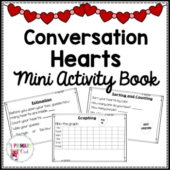 Conversation Hearts Mini Activity Book