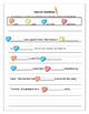 Conversation Heart writing and Grammar packet