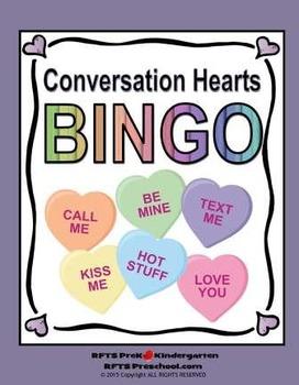 Conversation Hearts BINGO