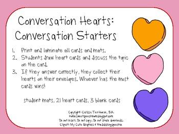 Conversation Hearts: Conversation Starters