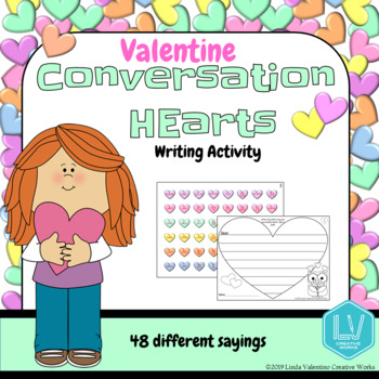 FREE Valentine's Day Writing printable activity
