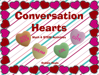 Conversation Hearts STEM activities