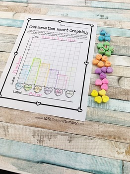Conversation Hearts Candy Math Valentine's Day