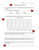 Conversation Hearts Math (one page)