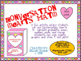Conversation Hearts Math with Mean, Median, Mode, Range,an