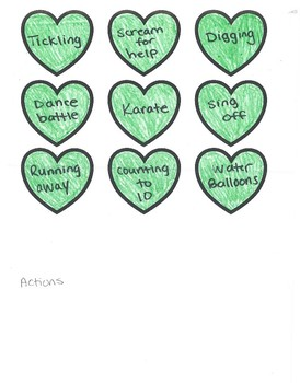 Conversation Hearts: Roll-a-Story