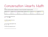 Conversation Hearts Sorting Math