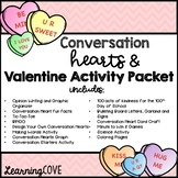 Conversation Hearts, Valentine's Day and Kindness Activity Packet and Centers!