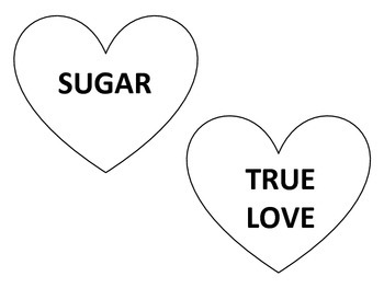 Conversation Hearts Valentines