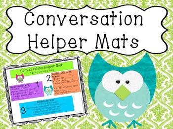 Conversation Helper Mats