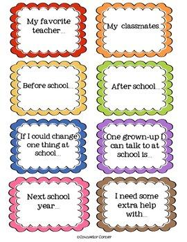 Conversation Kickstarts: School Set