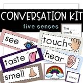 Conversation Kit: 5 Senses {ESL} (Kindergarten Wonders Uni