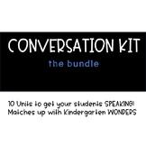Conversation Kit Bundle! {ESL} (Kindergarten Wonders)