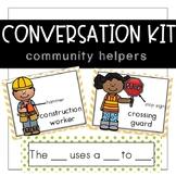 Conversation Kit: Community Helpers {ESL} (Kindergarten Wo