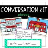 Conversation Kit: Community Places {ESL} (Kindergarten Won