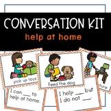 Conversation Kit: Help at Home {ESL} (Kindergarten Wonders