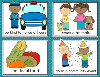 Conversation Kit: Improving our Community {ESL} Kindergarten Wonders Unit 4 W. 3