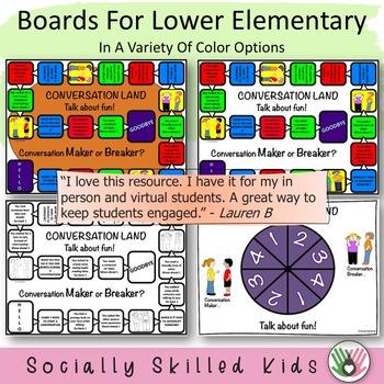 SOCIAL SKILLS: Conversation Land~ Talk About Fun!
