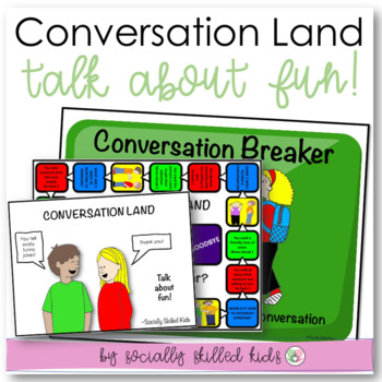 SOCIAL SKILLS Conversation Board Game {6 Differentiated Board Games For k-5th}