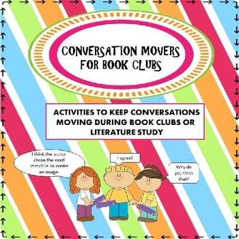 Conversation Movers for Literature Study or Discussion Groups