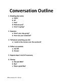 Conversation Outline