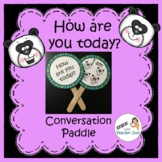 English Conversation Paddle (VIPKID GOGOKID) - How are you today?