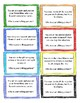 Conversation Planner Social Skills Task Cards