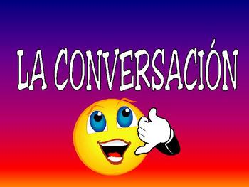 Conversation Power Point for Beginning Spanish Students