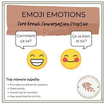 Conversation Practice with Emojis