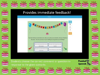 Conversation Questions & Comments: Birthday Edition  Boom™ Cards