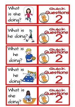 Quick Conversation Questions - level 2